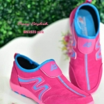 รองเท้าผ้าใบแฟชั่น สวยเท่ห์ วัสดุอย่างดี ทรงสวยเพรียวกระชับเท้า ใส่สบาย ใส่เที่ยว ออก กำลังกาย เท่ห์เก๋สไตล์สปอร์ตเกิร์ล (BN3520)