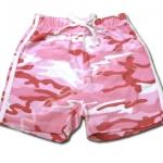 กางเกง สีชมพู ลายทหาร 6T