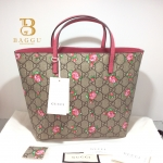 (SOLDOUT)NEW Gucci Kids Tote Rose