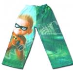 กางเกง สีเขียว ลาย อินคิสดิเบิ้ล 4T