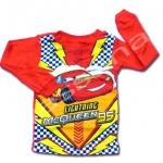 เสื้อ สีแดง-เหลือง ลาย McQueen กับสายฟ้า 18M