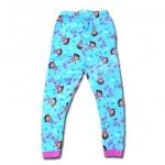 กางเกง สีฟ้า-ชมพู ลาย Dora กระโดดเชือก 6T