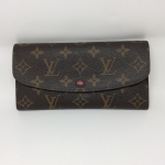 Louis vuitton Emilie wallet สีแดง