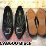 รองเท้าคัทชู ส้นเตี้ย สวยเก๋ หนังนิ่มอย่างดี แต่งอะไหล่สวยดูดี พื้นบุนิ่ม พื้นยางกันลื่น นิ่มยืดหยุ่น ใส่สบาย แมทสวยได้ทุกชุด (CA8600)