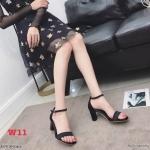รองเท้าแฟชั่น ส้นสูง แบบสวม รัดข้อ แต่งผ้าซาตินเงาสวยเรียบหรู ส้นเหลี่ยมสวยเก๋ หนังนิ่ม ทรงสวย สูงประมาณ 3 นิ้ว ใส่สบาย แมทสวยได้ทุกชุด (K59118)