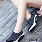 รองเท้าผ้าใบลำลอง เพื่อสุขภาพ ระบายอากาศดี แต่งผ้าลายจุด ด้านในบุนวมนิ่ม พื้นหนา 2 นิ้ว งานจริงสวย งานดีมาก ใส่กระชับเท้า พื้นยางกันลื่นอย่างดี นิ่ม ใส่ สบายเท้าสุดๆ สินค้าคุณภาพ