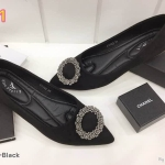 รองเท้าคัทชู ส้นแบน หนังสักหราด แต่งอะไหล่หรู ทรงสวย หนังนิ่ม ใส่สบาย แมทสวยได้ทุกชุด (K5002)
