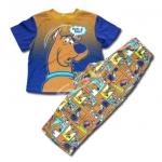 ชุดนอน สีน้ำตาล ลาย Scooby Doo 8T