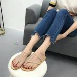 รองเท้าแตะแฟชั่น แบบสวม เกร๋เวอร์ สไตล์ ZARA 2017 ผ้าซาตินแต่งเพชรเรียบหรูดูแพงสุดๆ งานสวยตามแบบ มี 2 สีดำ ทอง