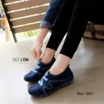 รองเท้าผ้าใบแฟชั่น สไตล์เกาหลี soft & comfort ยางยืด z ยืดหยุ่นดีมาก ใส่สบาย ระบาย อากาศ และซัพพอร์ทดีมาก รองเท้าวิ่ง ปั่นจักยาน ใช้ออกกำลังกายเบาๆ ป้องกันการปวด เท้า เดินสบายนุ่มมาก ด้านในพื้นถอดได้ งานสวยสะดุดตาทุกสี สีดำ น้ำตาล เทา น้ำเงิน (8261)