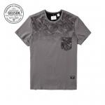 พรีออเดอร์ เสื้อยืด XL - 6 XL อกใหญ่สุด 55.11 นิ้ว แฟชั่นเกาหลีสำหรับผู้ชายไซส์ใหญ่ แขนสั้น เก๋ เท่ห์ - Preorder Large Size Men Korean Hitz Short-sleeved T-Shirt