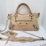 (SOLD OUT)BALENCIAGA first beige bag