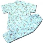 ชุดนอนใหม่ Hong Kong สีฟ้า ลาย Snoopy 10T
