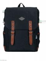 Back pack(กระเป๋าเป้ สะพายหลัง) BA005 สีดำ พร้อมส่ง