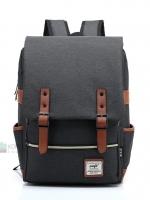 Back pack(กระเป๋าเป้ สะพายหลัง) BA045 สีดำ พร้อมส่ง