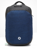 Ozuko Back pack(กระเป๋าเป้ สะพายหลัง) BA069 น้ำเงิน พร้อมส่ง