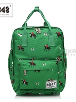 8848 Back pack(กระเป๋าเป้ สะพายหลัง) BA043 สี เขียวโปโล พร้อมส่ง
