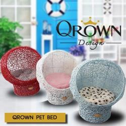 เตียงนอนสุนัข แมว โซฟานอน สำหรับสัตว์เลี้ยง By Qrown Design