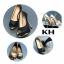 รองเท้าคัทชู ส้นสูง เปิดนิ้ว แต่งส้นเคลือบเงาสวยหรู ทรงสวย หนังนิ่ม ใส่สบาย ส้นสูงประมาณ 5 นิ้ว เสริมหน้า แมทสวยได้ทุกชุด thumbnail 3