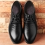 พรีออเดอร์ รองเท้าหนัง เบอร์ 39-48 แฟชั่นเกาหลีสำหรับผู้ชายไซส์ใหญ่ เก๋ เท่ห์ - Preorder Large Size Men Korean Hitz Shoes thumbnail 1