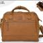 Large twoway Anello leather Shoulder Bag (สีCamel) thumbnail 1