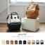 กระเป๋าเป้ Anello Leather Ivory Navy (Standard) หนัง PU กันน้ำ thumbnail 8