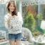กระเป๋าเป้แฟชั่น SWEET LEMON สวยหวานน่ารัก ผลิตจากผ้า Cotton-Polyester/Canvas เคลือบด้านกันน้ำ 100% สามารถทำความสะอาดได้ โดยการนำผ้าชุบน้ำเช็ดกระเป๋า ภาพถ่ายจากสินค้าจริง Size : 12 x 23 x 31 cm thumbnail 2