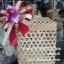 ปิ่นโตไม้ไผ่ ปิ่นโตชะลอม thumbnail 1