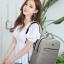 กระเป๋าเป้ Notebook Baisirui High quality (สีน้ำตาล) thumbnail 24