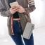 กระเป๋าสตางค์ผู้หญิง Crustal สี light gray thumbnail 6