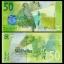 ธนบัตรประเทศซีเชลล์ เซ็ท 4 ใบ ปี 2016 SEYCHELLES ชนิด ราคา 25 50 100 500 RUPEES P-NEW UNC thumbnail 4