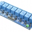 8 Channel 5V Relay Module high-current relay DC30V 10A or AC250V 10A thumbnail 2
