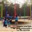 แทรมโพลีน สปริงบอร์ด 16ฟุต(4.88ม) สายรุ้ง 6ขา thumbnail 7