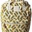 กระเป๋าเป้ Anello Canvas Limited Pineapple Ivory (Standard) ผ้าแคนวาส ลายสัปปะรด สีขาว thumbnail 4