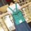 กระเป๋าเป้ Japan chic (กระเป๋าเป้สไตล์ญี่ปุ่น) สีเขียว thumbnail 1