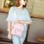 กระเป๋าเป้ผู้หญิง Flora bag สีชมพู thumbnail 12
