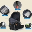 Super quality wissblue hiking backpack 40/50 ลิตร thumbnail 17