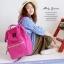 New!! กระเป๋าเป้ Anello Canvas Shocking Pink (Standard) ผ้าโพลีเอสเตอร์แคนวาส กันน้ำ thumbnail 1