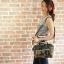 Mini Anello Boston shoulder Bag (ลายทหาร) thumbnail 8