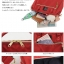 Large Anello Shoulder Boston Bag (สีแดง) thumbnail 3