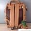 กระเป๋าเป้ Anello Leather Camel beige (Mini) thumbnail 3