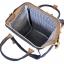 กระเป๋าเป้ Anello Cotton Navy (Standard) ผ้าคอตตอน สีทูโทน ขาวกรมท่า thumbnail 7