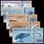 ธนบัตรภูมิภาคอาร์กติค Arctic Territories SET 5 PCS, 25-500 Dollars, 2016/2017,Matching , Polymer, UNC thumbnail 1