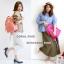 กระเป๋าเป้ Anello coral pink (Standard) ผ้าโพลีเอสเตอร์แคนวาส กันน้ำ thumbnail 3