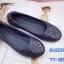 รองเท้าคัทชู ส้นแบน หัวมนทรงบัลเล่ แต่งอะไหล่สไตล์แบรนด์สวยเก๋ หนังนิ่ม พื้นนิ่ม งานสวย ใส่สบาย แมทสวยได้ทุกชุด (77-121) thumbnail 1