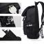 กระเป๋าเป้แฟชั่น MCJH MIKE DESIGNS (สีดำ) thumbnail 6