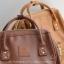 กระเป๋าเป้ Anello Leather Brown (Standard) หนัง PU กันน้ำ thumbnail 3
