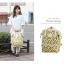 กระเป๋าเป้ Anello Canvas Limited Pineapple Ivory (Standard) ผ้าแคนวาส ลายสัปปะรด สีขาว thumbnail 2