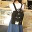 กระเป๋าเป้ Japan chic (กระเป๋าเป้สไตล์ญี่ปุ่น) สีดำ thumbnail 3