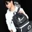 กระเป๋าเป้ Leisure korean backpack (สีดำ) thumbnail 3